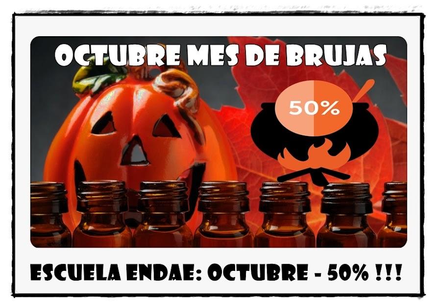 PROMOCIÓN Octubre mes de Brujas: - 50% de descuento