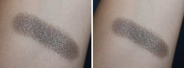 mac extra dimension eyeshadow silver dawn review swatch