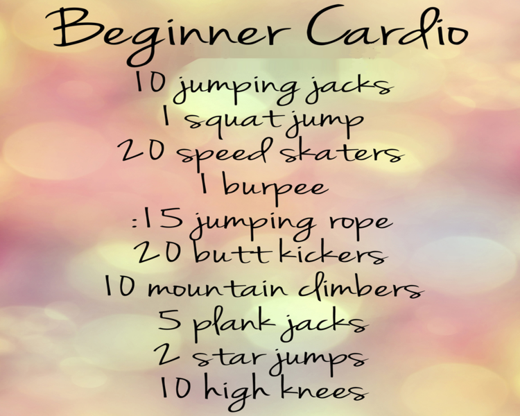 Muscle and Fitness: Beginner Cardio Workout Routine