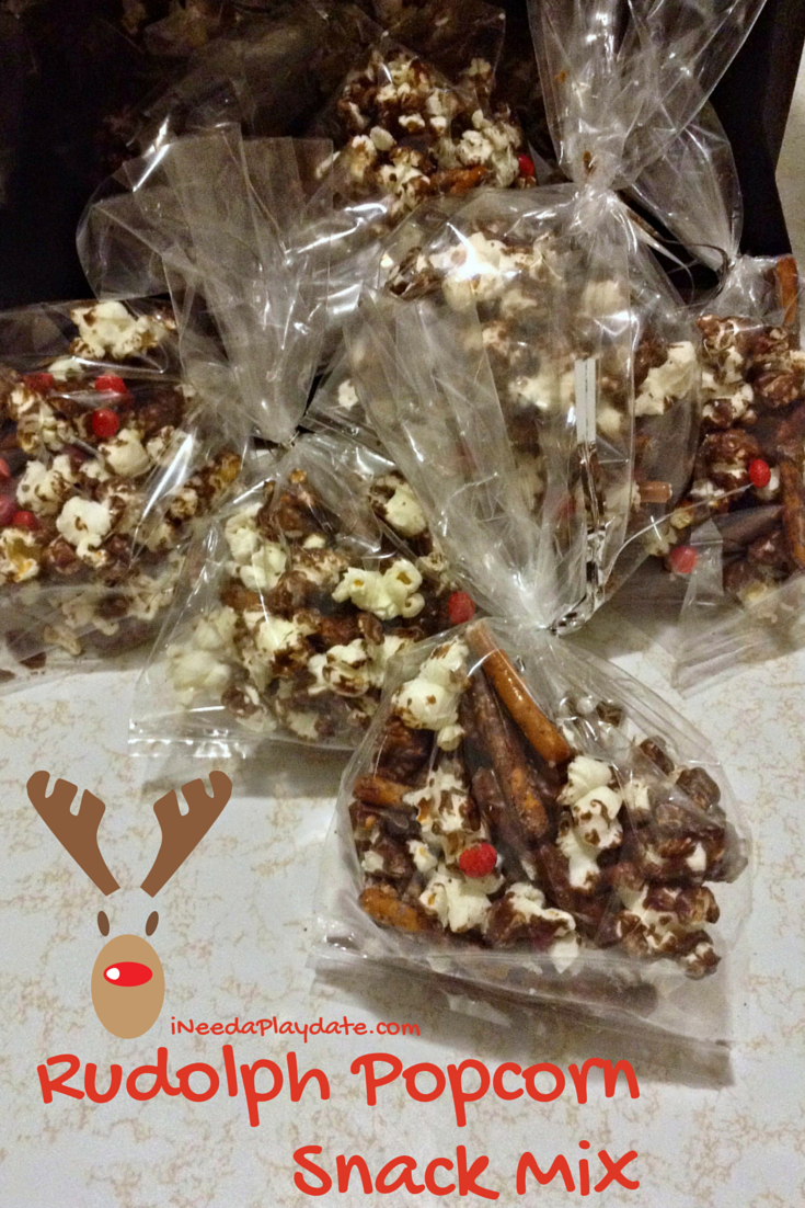 Pinterest Win? Rudolph Snack Mix Recipe