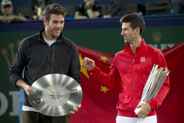 Del Potro y Djokovic - Shanghai '13 - bp.3