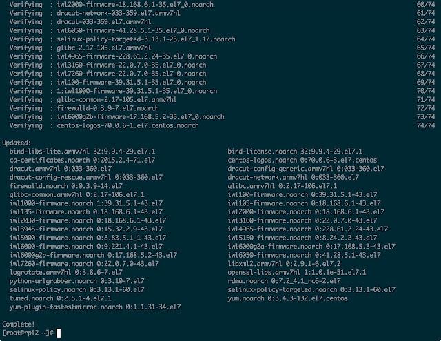 Centos 7 raspberry pi 3 download