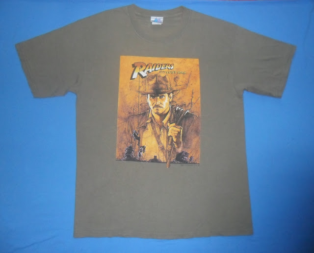 RAIDERS OF THE LOST ARK movie t shirt