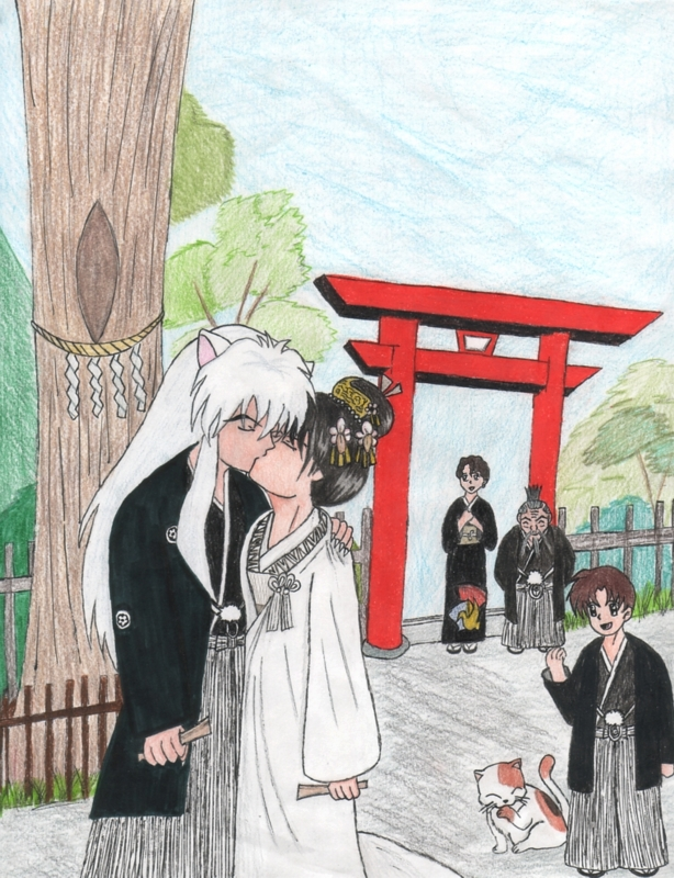 kagome and inuyasha wedding