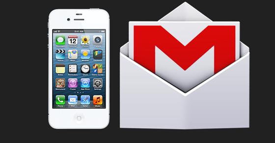 Cara membuat email Gmail iPhone 4
