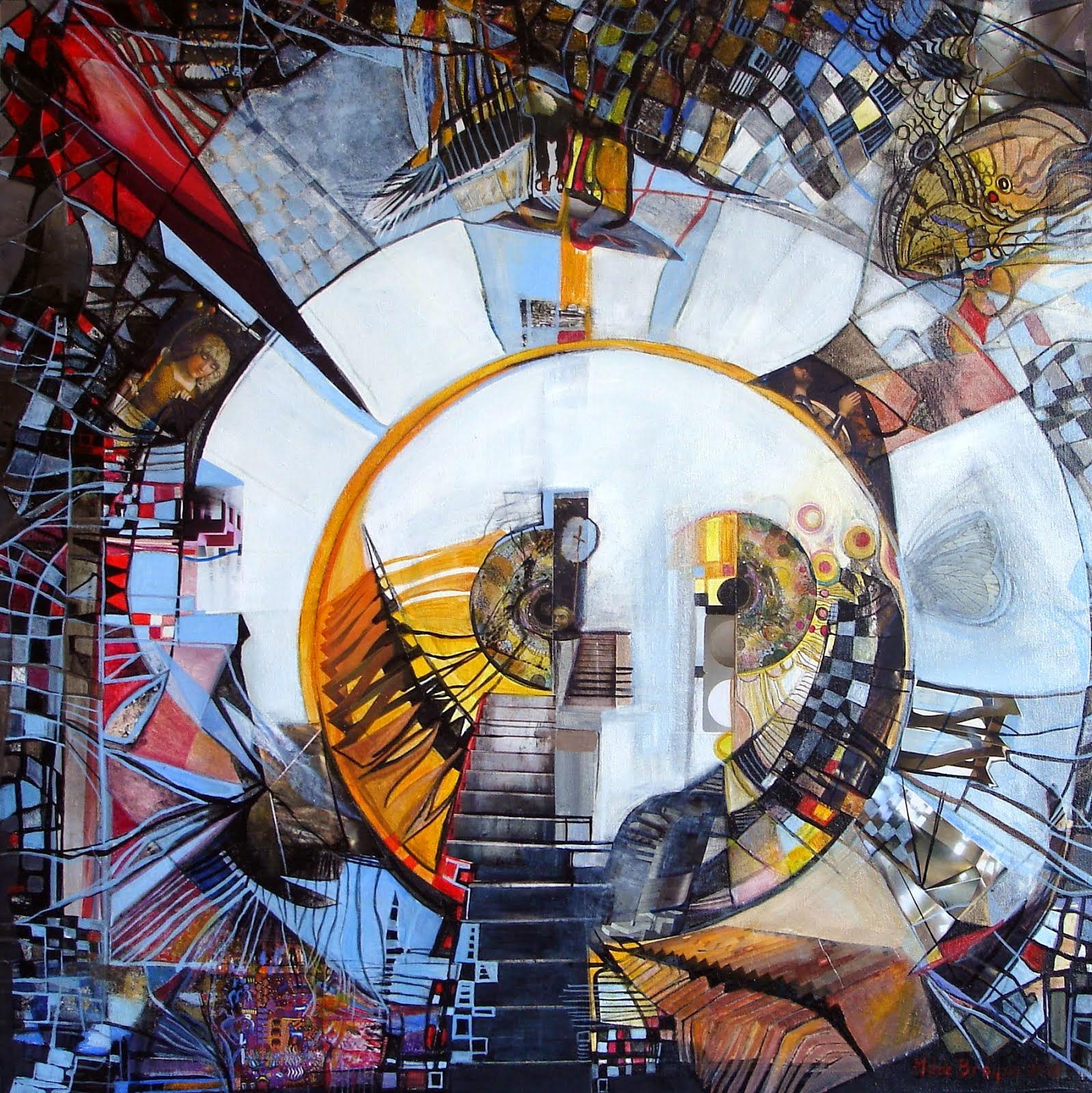 Le don de l'aigle - 60 x 60 cm - 2014