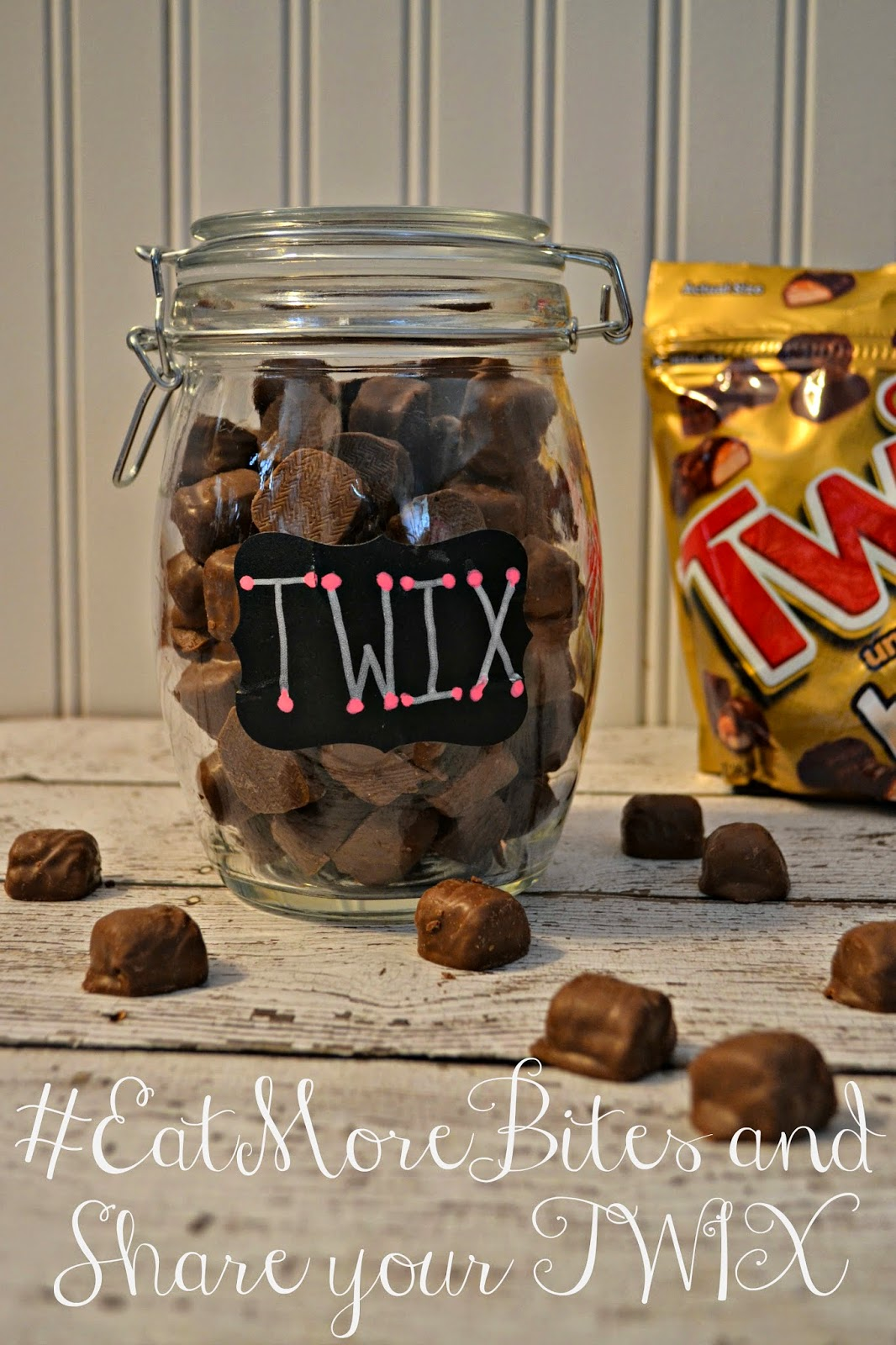 Share the TWIX love with your coworkers #EatMoreBites.  TWIX Bites Snack On-the-Go.