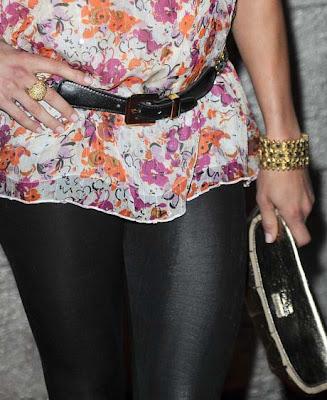 Christine Lakin Gold Bracelet