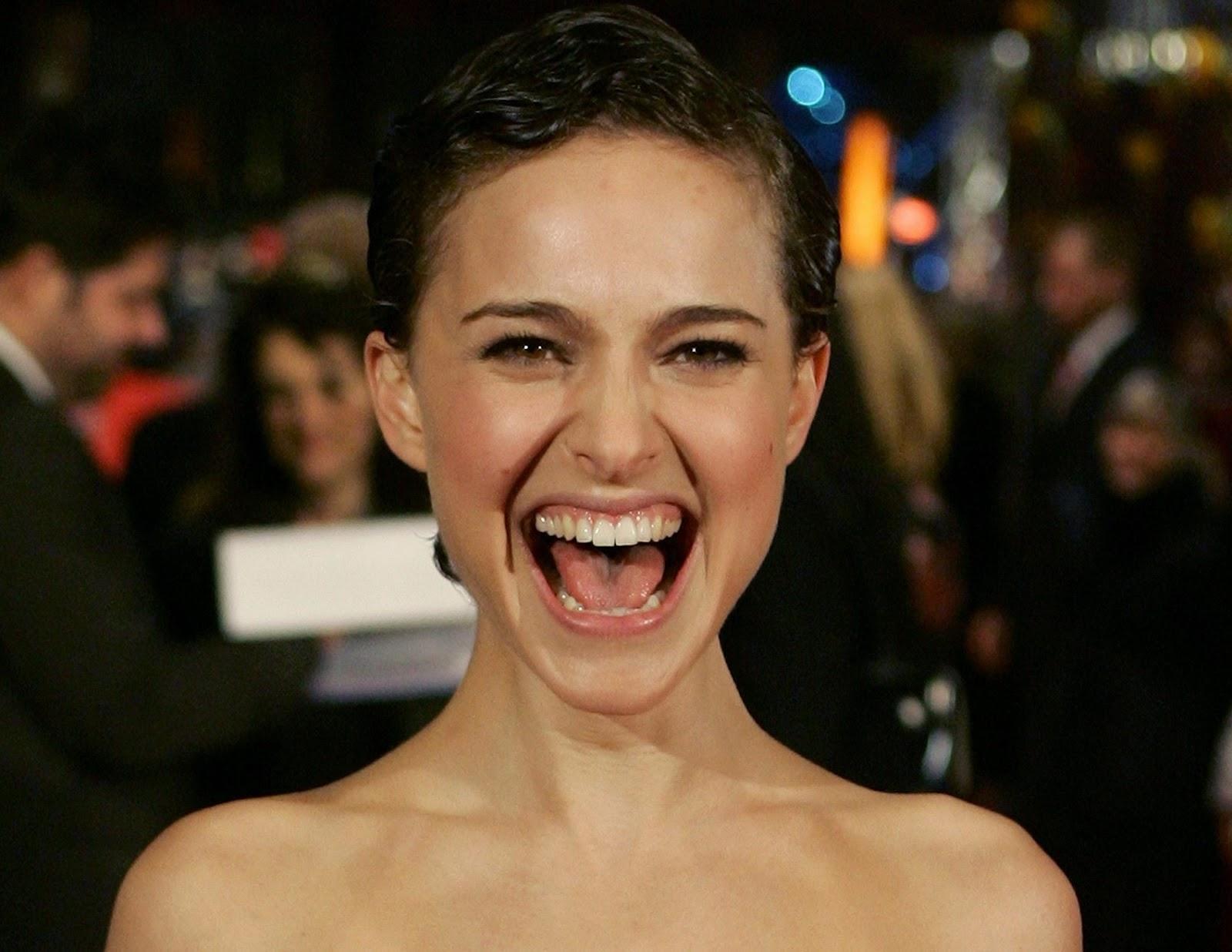 natalie portman open mouth