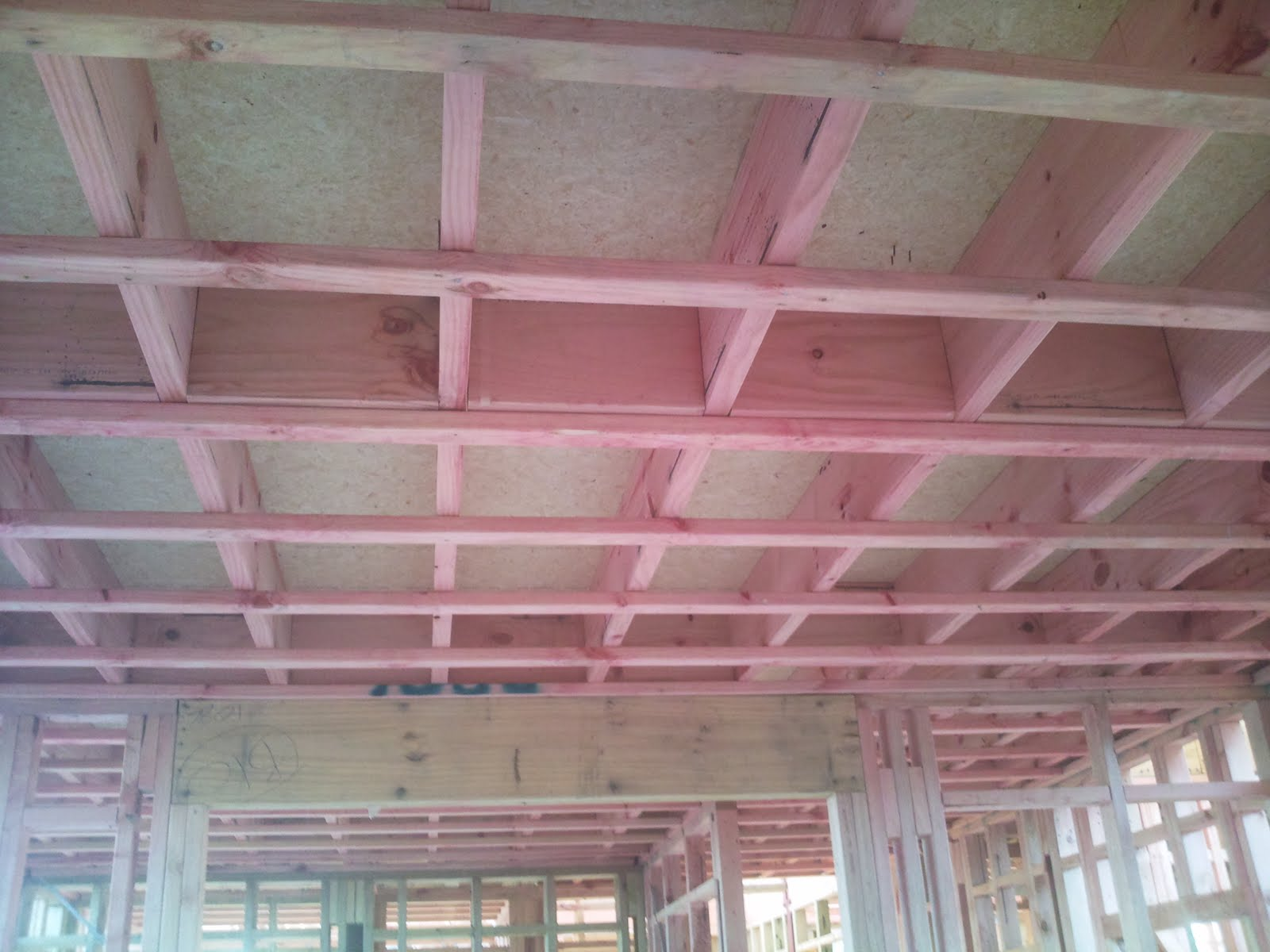 Journal 1 3 5 7 hatfield drive albany for Ceiling joist dimensions