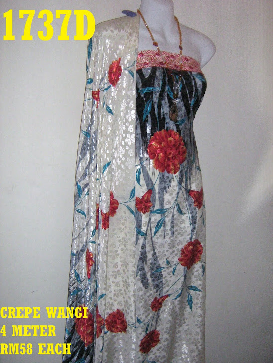 CW 1737D: CREPE WANGI, 4 METER