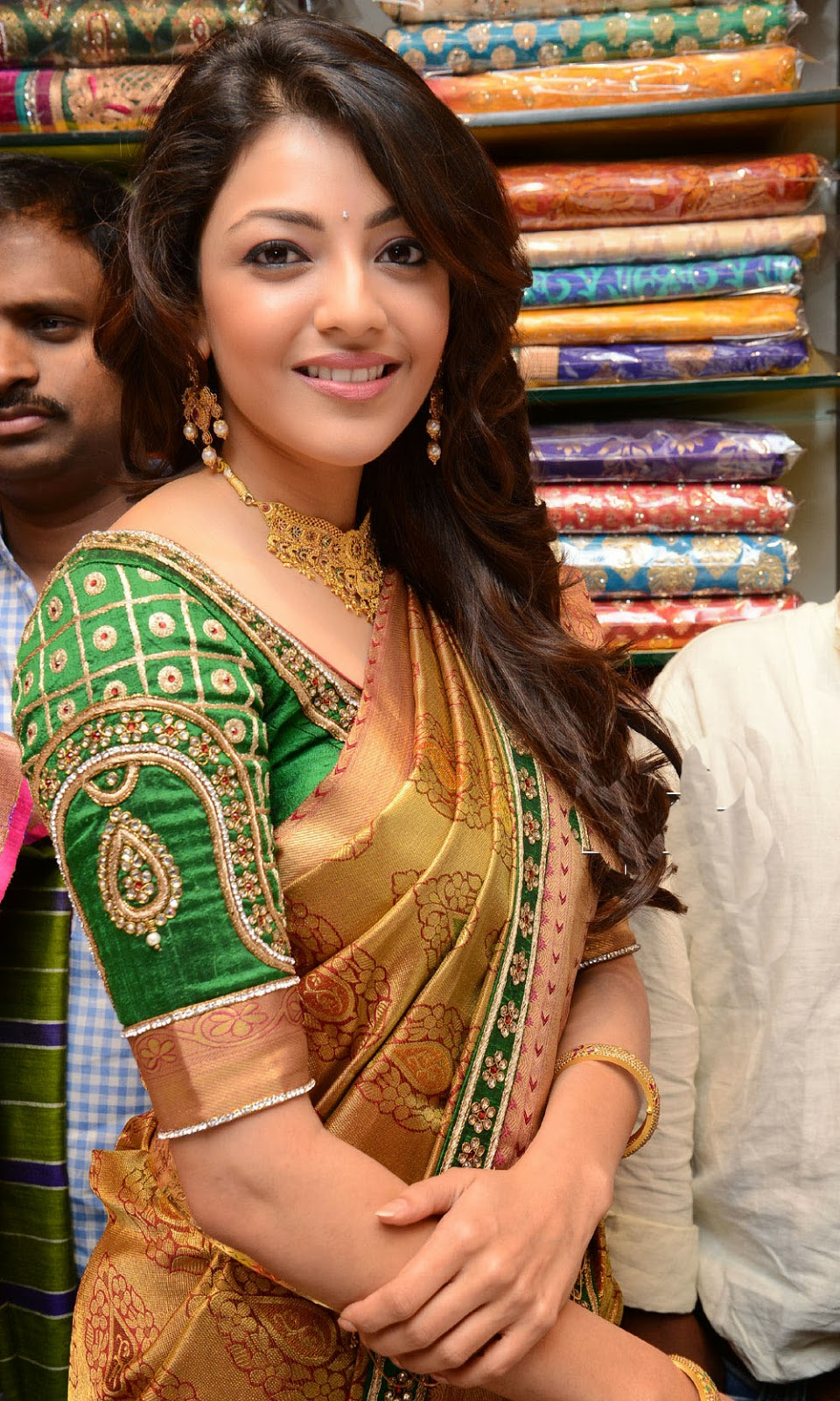 Kajal Agarwal in saree,