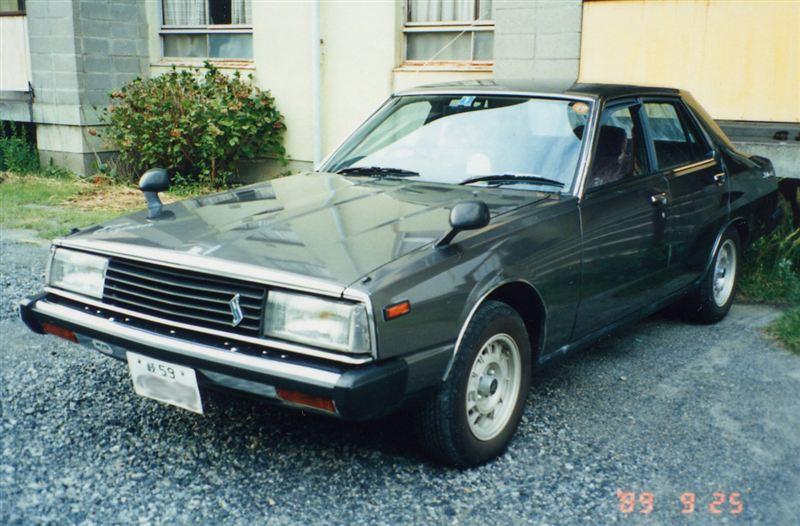 Nissan Skyline, EGC211, C210, 280DGT, Diesel, LD28, JDM, japoński samochód, najszybszy diesel, dawny model, oldschool, ディーゼルエンジン, 日本車, クラシックカー