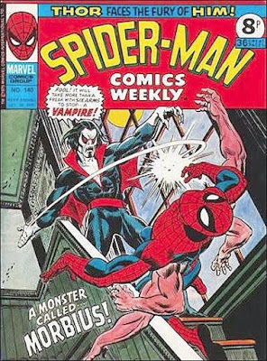 Spider-Man Comics Weekly #140, Morbius