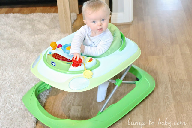 chicco baby walker, 7 month old baby