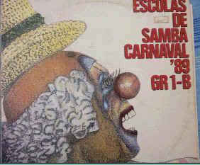 foto da capa do cd sambas de enredo 1989 grupo de acesso
