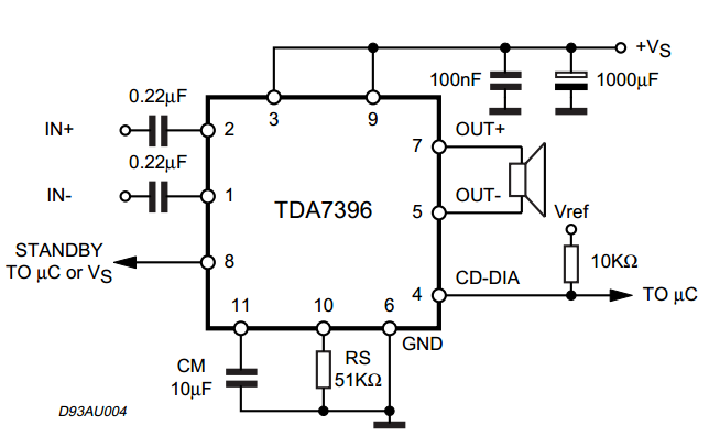 audio amplifier circuits  2  u03a9