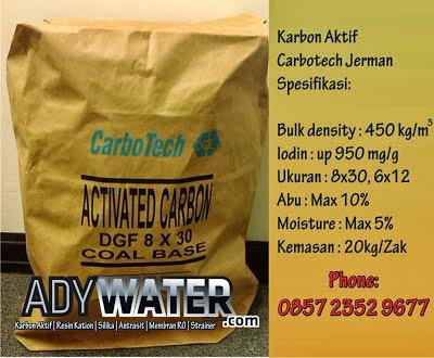 Jual Karbon Aktif Carbotech