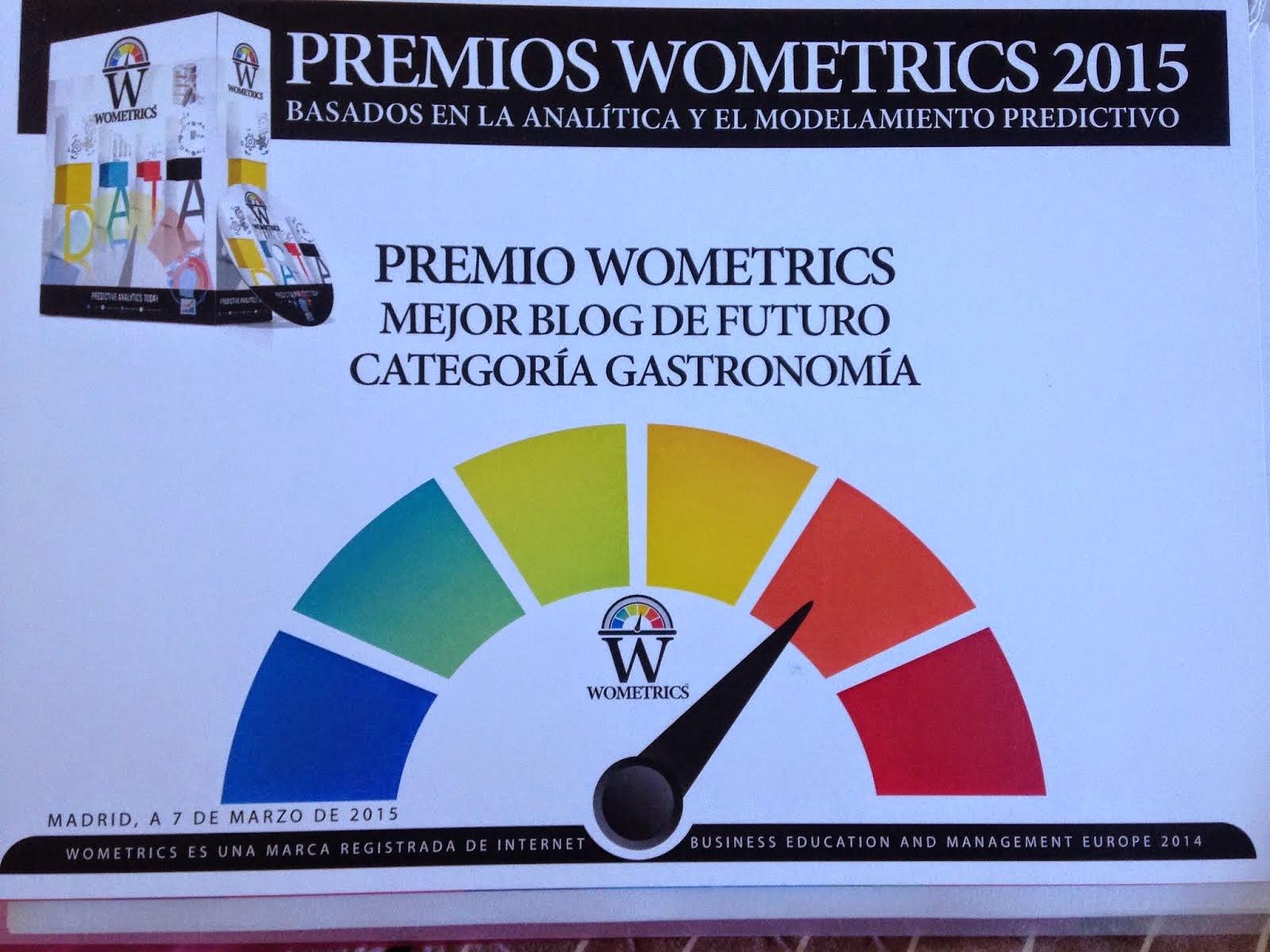 1º Premio Wometrics 2015, @Alefeldman