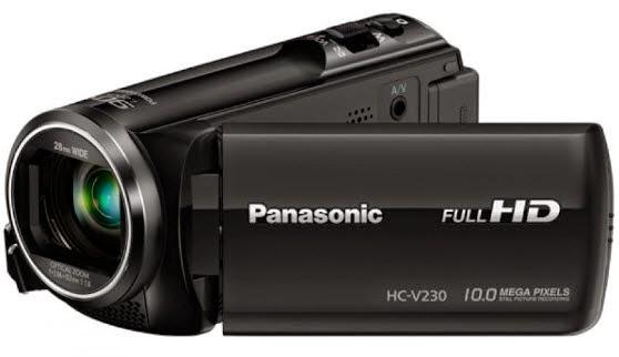 Harga dan Spesifikasi Panasonic Handycam HC-V230GC-K