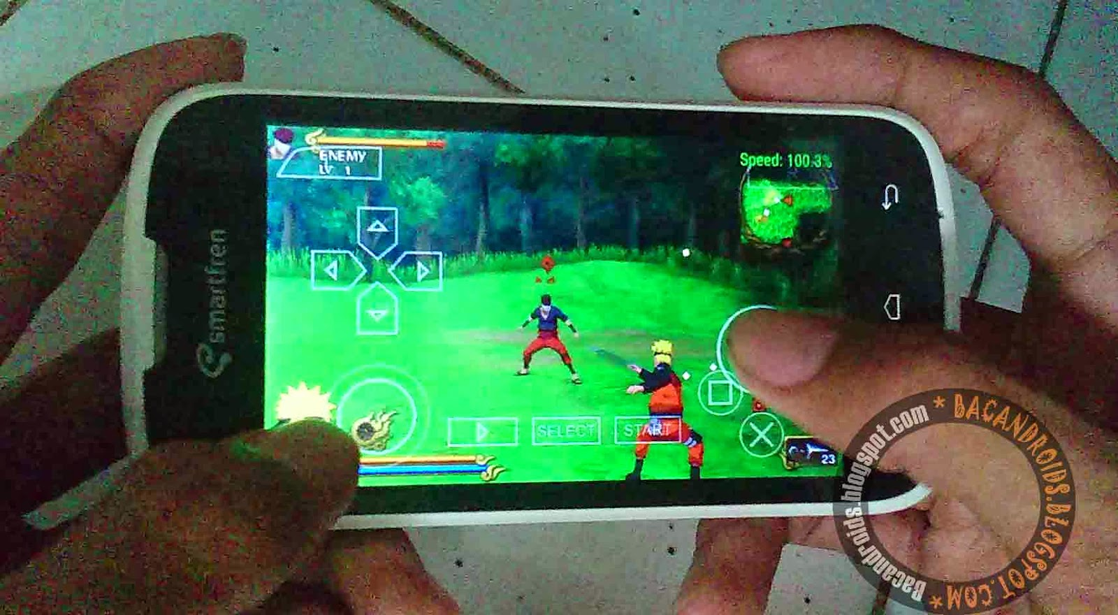 free download Game Naruto PSP android CSO ISO gratis