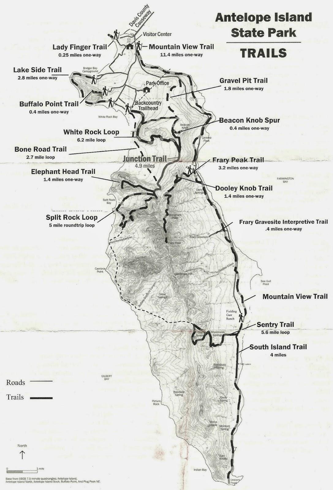 Island Lake State Park Trail Map