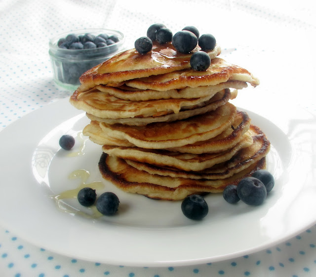 how to make american pancakes without baking powder