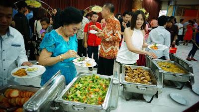 menu prasmanan event acara di salza pati