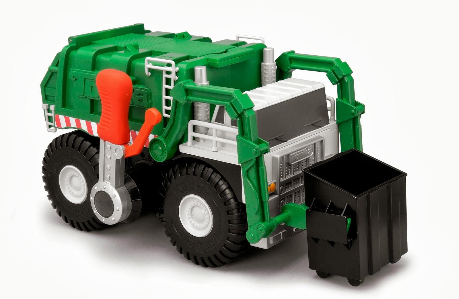 preschool engineering top 5 working trucks