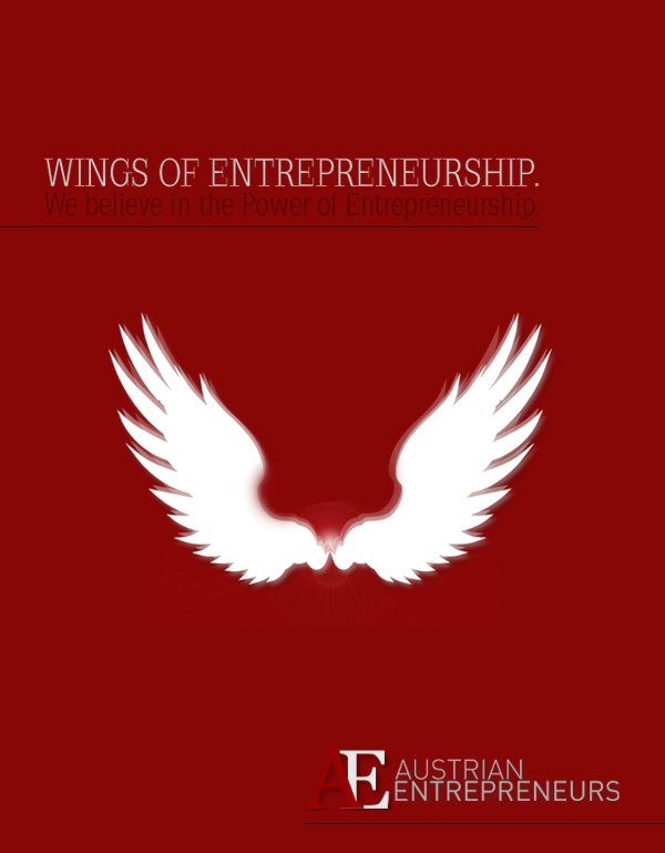 Wings of Entrepreneurship. We believe in the Power of Entrepreneurship. AustrianEntrepreneurs.com