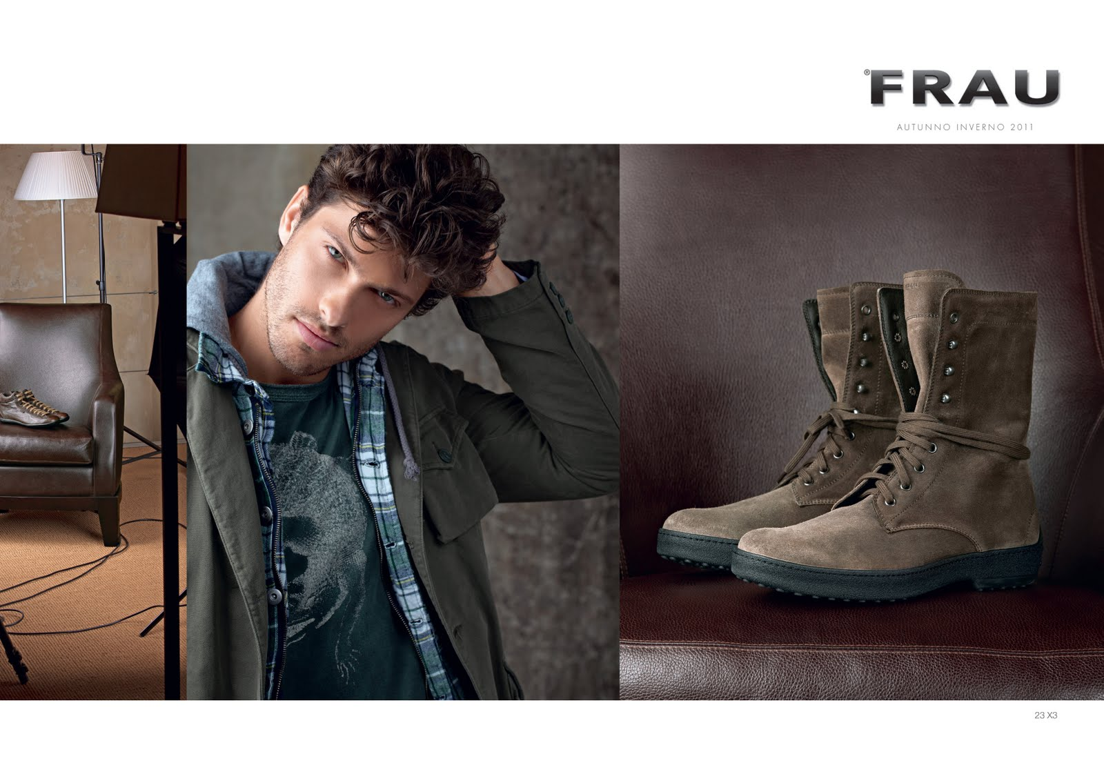 INDEPENDENT MEN: CAMPAIGN : RICARDO DAL MORO for FRAU fw 11-12