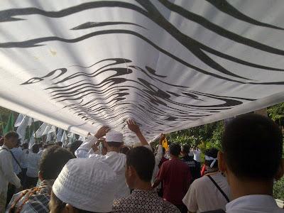 50 Ribu Umat Muslim Parade Tauhid di Solo