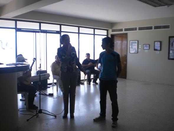 Anyelo González Exposición