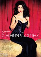 Selena Gomez looking hot in a black dress