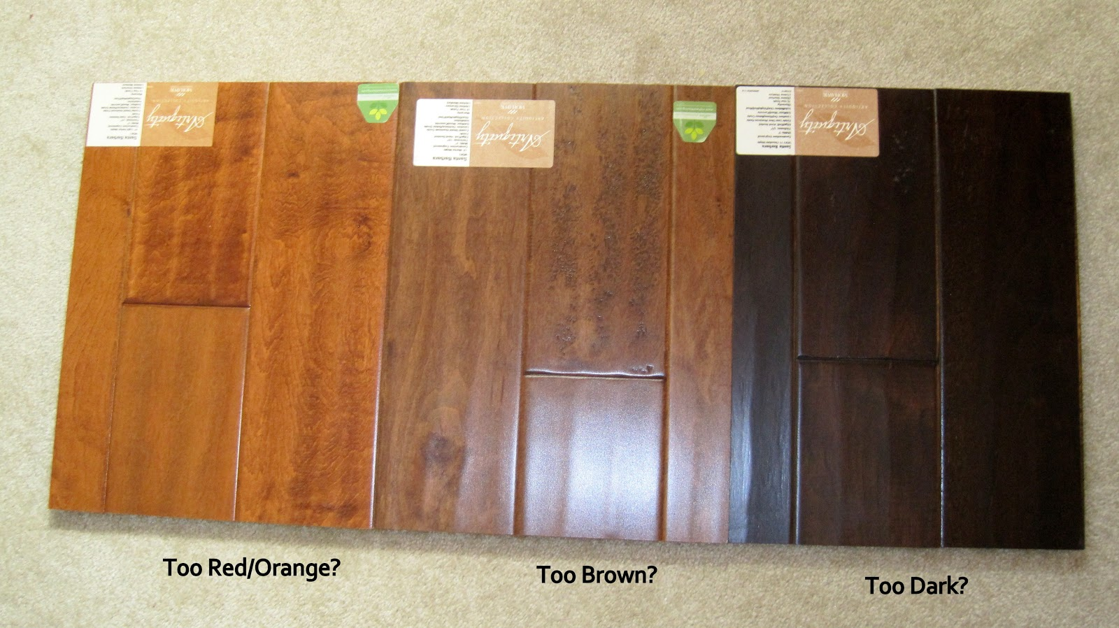 Mohawk Wood Flooring Color Options