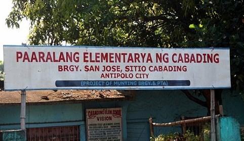 Elementary ng Cabading San Jose Antipolo City Philippines