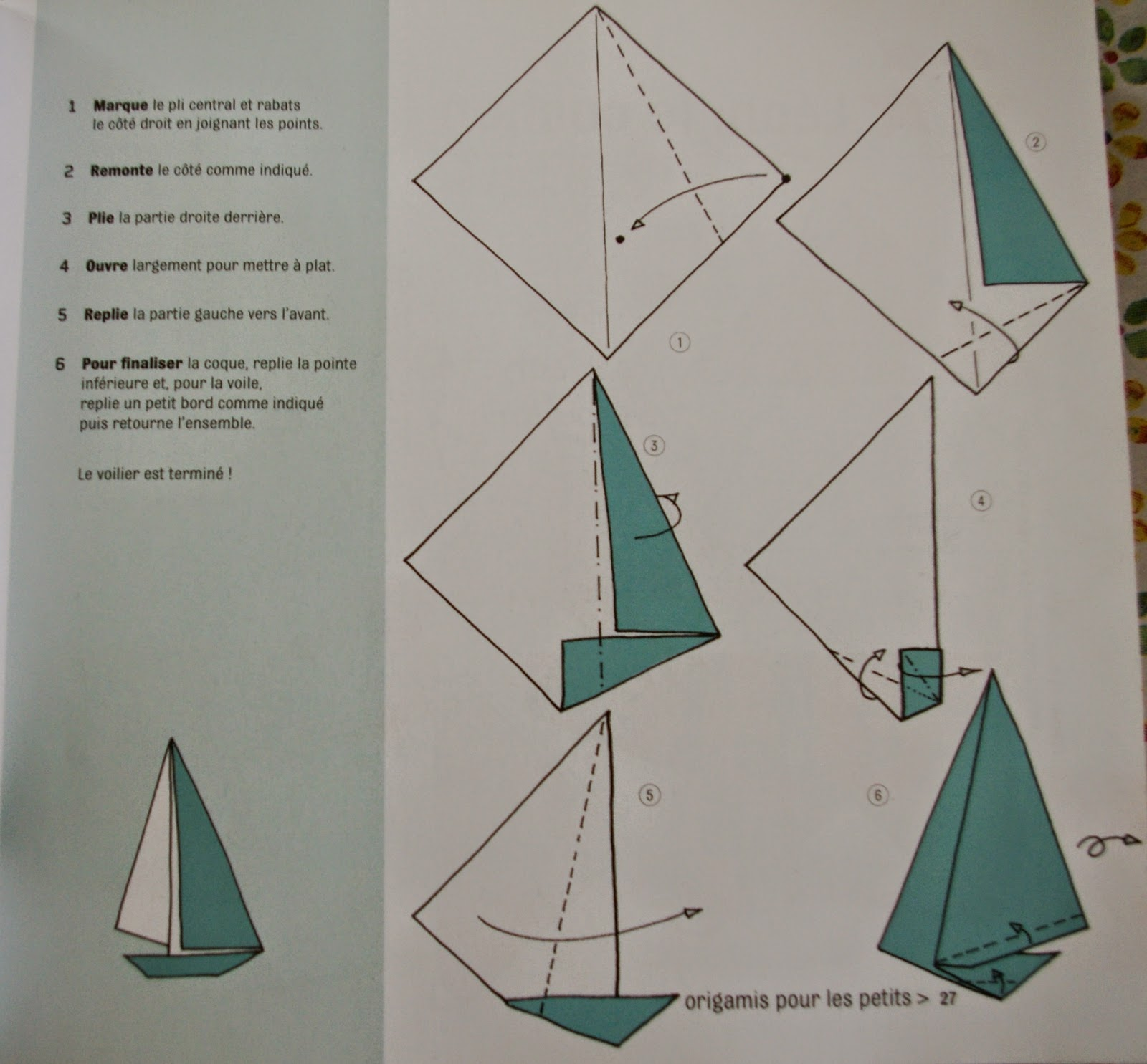 Raph Gaby Blog Lifestyle Deco Et Diy Diy Un Mobile Avec Des Voiliers En Origami