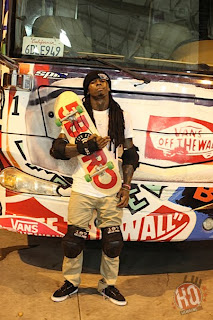 >News // Lil' Wayne Blessé Après Un Accident De Skateboard