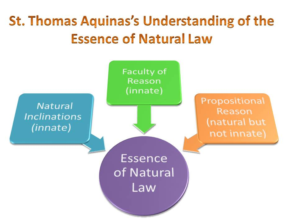 essay on aquinas natural law