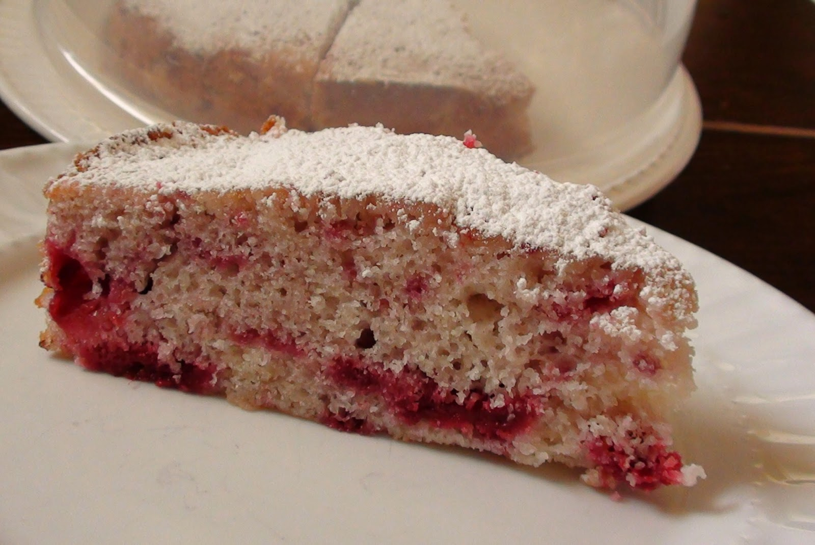 Raspberry Buttermilk Cake Recipe — Dishmaps