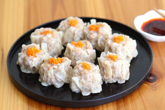 My Kitchen Snippets: Pork and Shrimp Shumai
