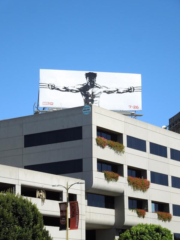 Wolverine teaser billboard