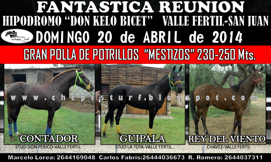 20 DE ABRIL VALLE FERTIL -MESTIZOS