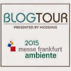 This February:  I'm headed to Frankfurt, Germany for the tabletop show Ambiente!