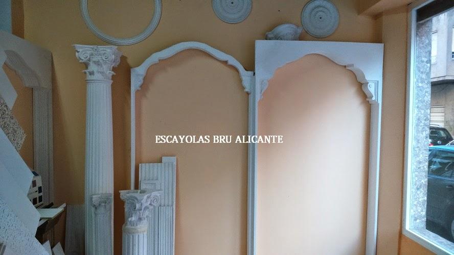 Escayolas bru alicante arcos for Arcos de madera para puertas