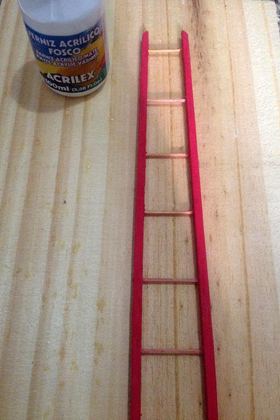 chaveiro colorido, escada miniatura, key holder, key, chave