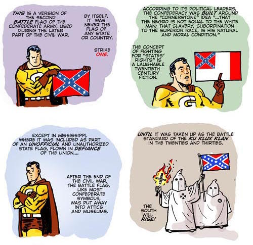Good Man Presents: Fun with Flags by Ty Templeton.