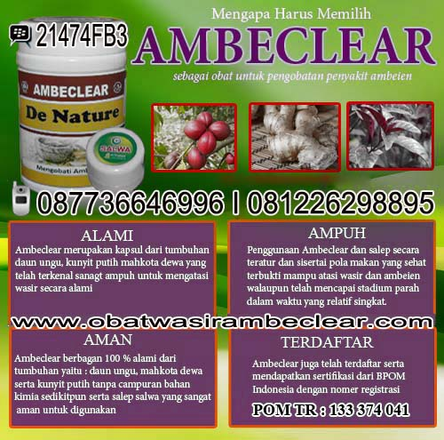 Obat Wasir Ambeclear