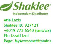 I'm Shaklee Independent Distributor