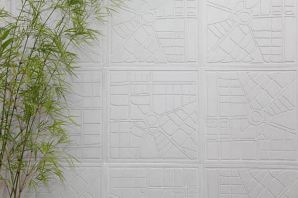 Interior design ideas for wall tiles forming city maps - Different types of wall tiles ...
